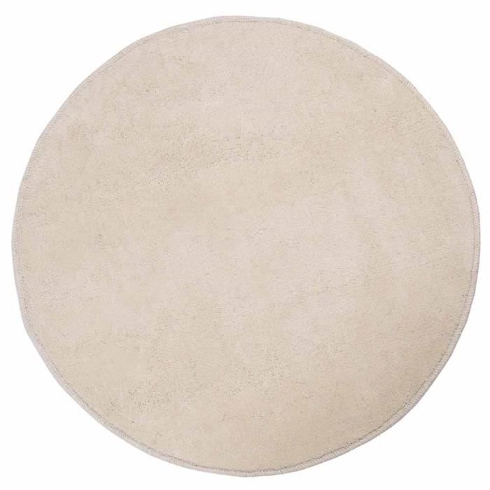 tapis rond beige. Black Bedroom Furniture Sets. Home Design Ideas