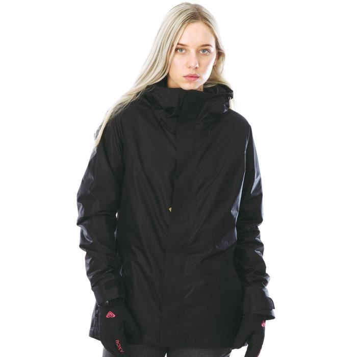 veste de snowboard femme burton gore tex rubix true noir leather emboss prix pas cher cdiscount. Black Bedroom Furniture Sets. Home Design Ideas
