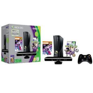 CONSOLE XBOX 360 CONSOLE XBOX 360 250 GO + CAPTEUR KINECT + DANC…