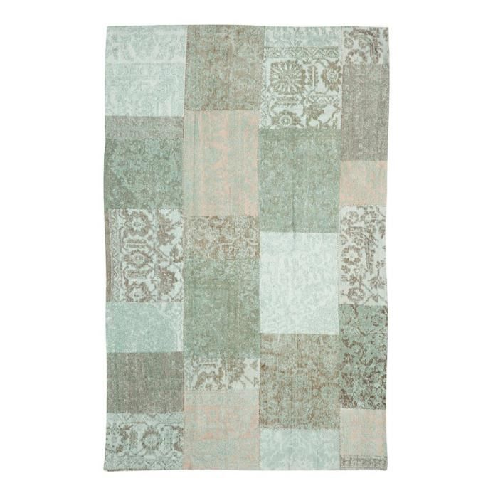 Tapis Washed 280 X 200 Cm Patchwork Achat Vente Tapis Cdiscount