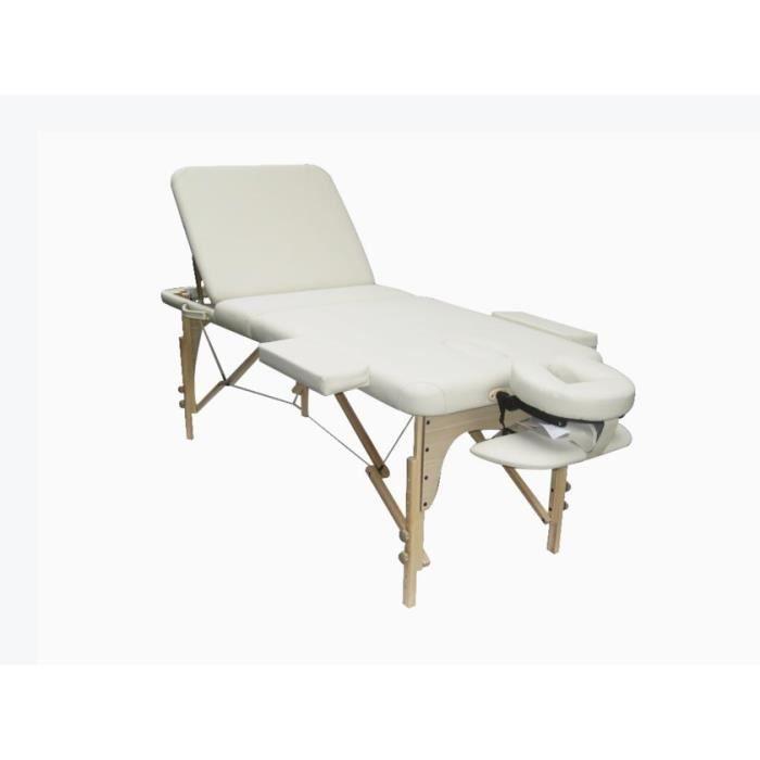 Table de massage pliante reflexo beige achat vente table de massage table - Achat table de massage pliante ...