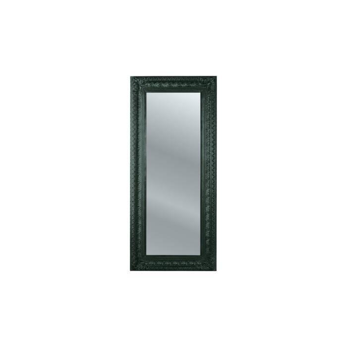 Miroir tendance opulence noir 215x95 kare design achat for Miroir noir design