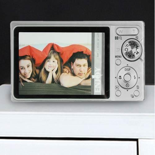 Cadre en verre appareil photo achat vente cadre photo for Cadre photo en verre