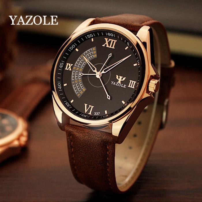 yazole les hommes de marque de luxe montres c l bres hommes de montres yazole quartz montres. Black Bedroom Furniture Sets. Home Design Ideas