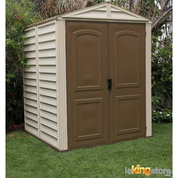 abri de jardin pvc 6x6 woodside achat vente abri jardin chalet abri de jardin pvc. Black Bedroom Furniture Sets. Home Design Ideas