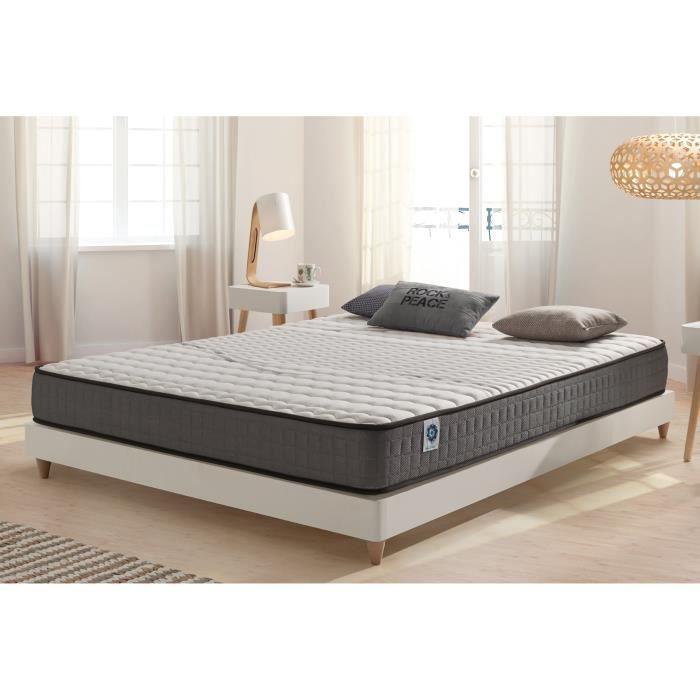 matelas visco elastic 140x200 cm blue latex 7 zones m moire achat vente matelas cdiscount. Black Bedroom Furniture Sets. Home Design Ideas