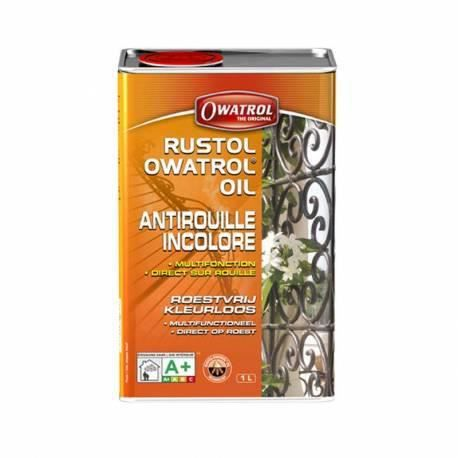 Antirouille incolore rustol owatrol 20 litres achat for Antirouille maison