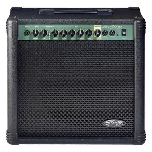 stagg ampli guitare 40 w rms 2 canaux r verbe pas cher. Black Bedroom Furniture Sets. Home Design Ideas