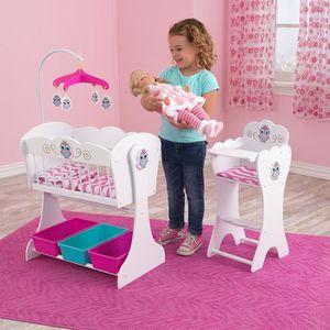 nurserie poupee en bois achat vente jeux et jouets pas chers. Black Bedroom Furniture Sets. Home Design Ideas