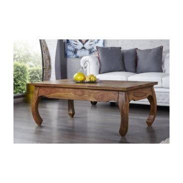 Table basse en bois minerva achat vente table basse - Salon de sejour en bois ...