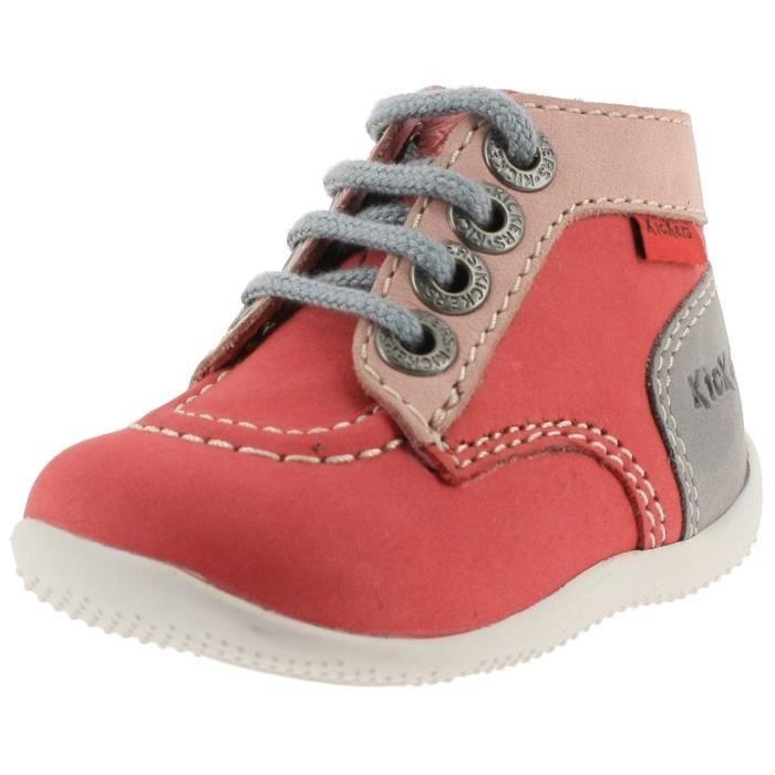 BOTTINE bottines / boots bonbon mixte enfant kickers 44682