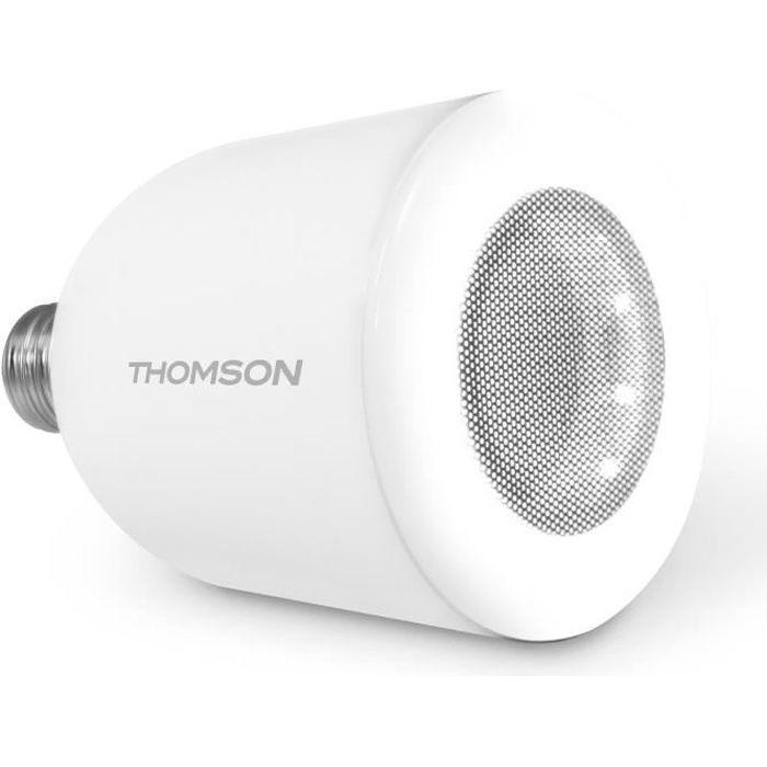 Thomson ampoule led e27 5 w avec enceinte bluetooth achat vente ampoule intelligente m tal - Ampoule enceinte bluetooth ...