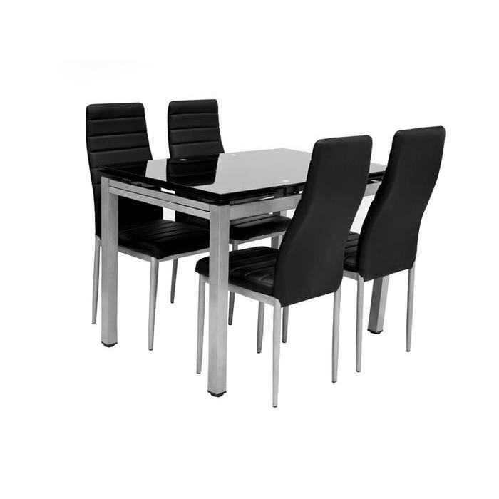 Table rabattable cuisine paris table et 4 chaise for Ensemble table et 4 chaises pas cher