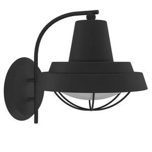 applique murale exterieur noir achat vente applique murale exterieur noir pas cher cdiscount. Black Bedroom Furniture Sets. Home Design Ideas