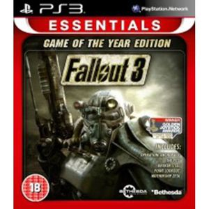 JEU PS3 Fallout 3 Game Of The Year Edition Essentials (Pla