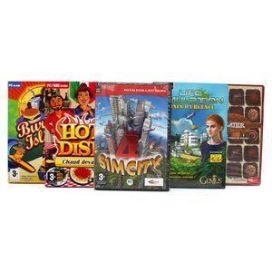 JEU PC Pack 5 jeux simulateurs gestion et stratégie vol 1