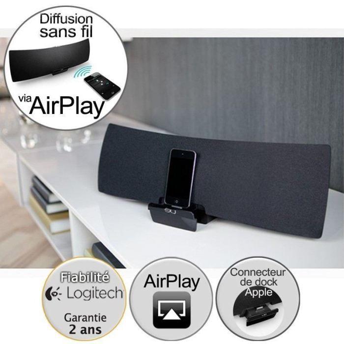 logitech air speaker haut parleur sans fil achat vente. Black Bedroom Furniture Sets. Home Design Ideas