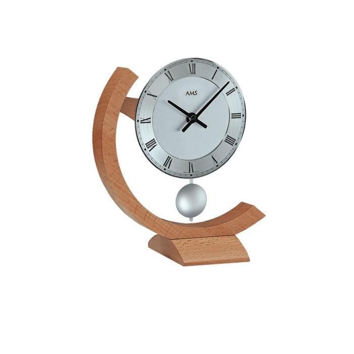 horloge moderne avec mouvement quartz de ams am t163. Black Bedroom Furniture Sets. Home Design Ideas