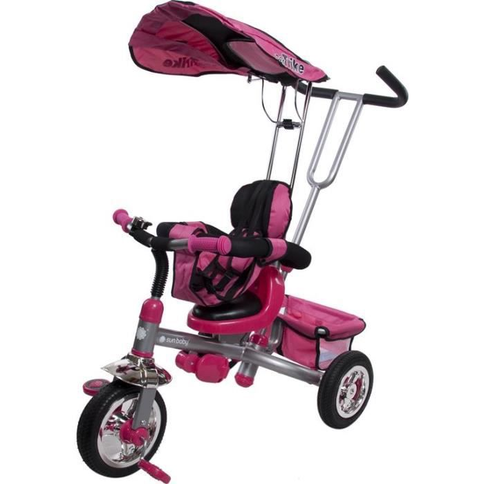 tricycle bebe enfant deluxe rose achat vente quad. Black Bedroom Furniture Sets. Home Design Ideas