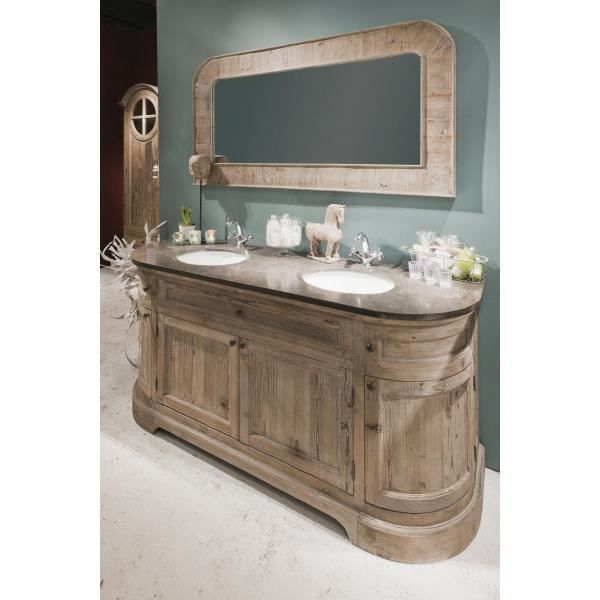 meuble de salle de bain avec son miroir eglantine meuble house achat vente meuble vasque. Black Bedroom Furniture Sets. Home Design Ideas