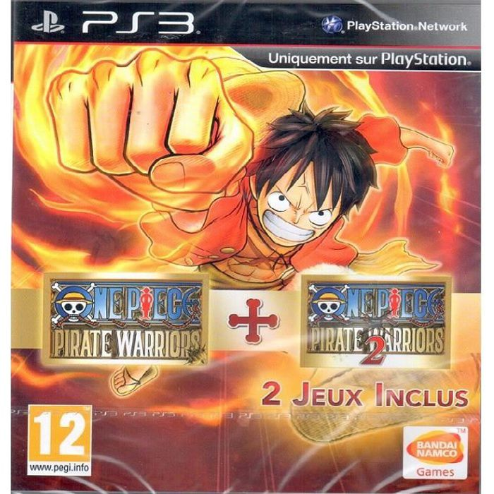 2 jeux ps3 one piece pirate warriors one piece pirate warriors 2 achat vente jeu ps3. Black Bedroom Furniture Sets. Home Design Ideas