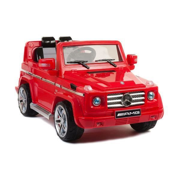 mercedes g55 amg rouge voiture lectrique enfant achat vente voiture mercedes g55 amg rouge. Black Bedroom Furniture Sets. Home Design Ideas