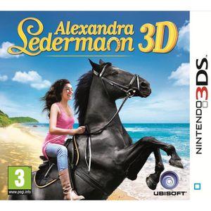 JEU 3DS ALEXANDRA LEDERMANN / Jeu console 3DS