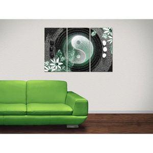 triptyque toile sur cadre achat vente triptyque toile sur cadre pas cher les soldes sur. Black Bedroom Furniture Sets. Home Design Ideas