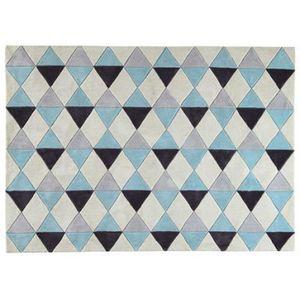 tapis forme geometrique achat vente tapis forme geometrique pas cher soldes cdiscount. Black Bedroom Furniture Sets. Home Design Ideas
