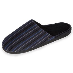 CHAUSSON - PANTOUFLE Chaussons mules homme rayures