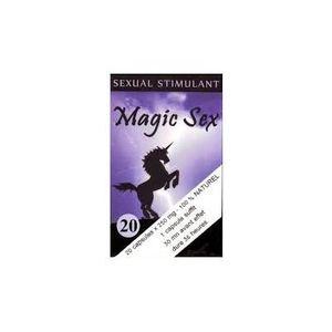 SOIN STIMULANT SEXUEL Aphrodisiaque Magic Sex X 20. Various.