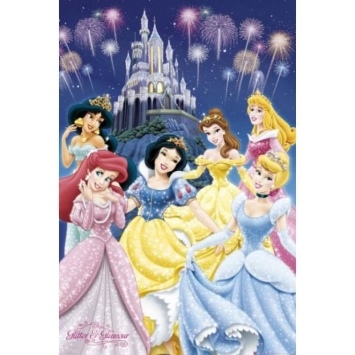poster princesse disney achat vente poster princesse. Black Bedroom Furniture Sets. Home Design Ideas