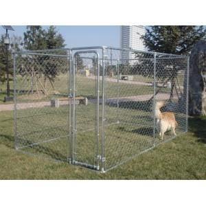 chenil parc enclos chien 3 96x2 29xh1 83m achat vente. Black Bedroom Furniture Sets. Home Design Ideas