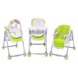 Brevi chaise b fun 3en1 vert anis vert anis achat for Brevi chaise haute