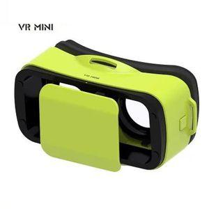 LUNETTES 3D PS vert mini Lunettes vidéo 3D réalité virtuelle a