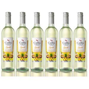 VIN BLANC Gallo Spritz ananas fruit de la passion 5,5% vol.