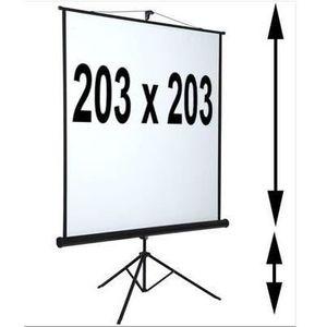 ecran de projection avec trepied achat vente ecran de projection avec trepied pas cher. Black Bedroom Furniture Sets. Home Design Ideas
