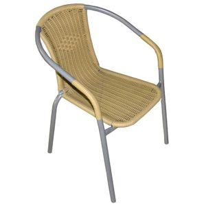 chaises fils plastique achat vente chaises fils plastique pas cher cdiscount. Black Bedroom Furniture Sets. Home Design Ideas