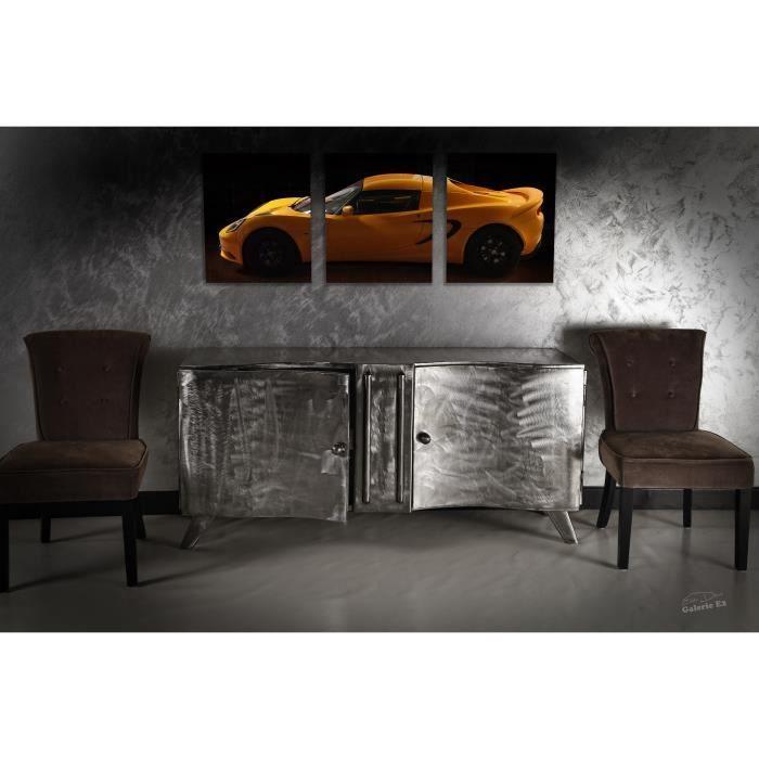 meuble tv m tal vernis cr ation unique achat vente meuble tv meuble tv m tal vernis cr a. Black Bedroom Furniture Sets. Home Design Ideas
