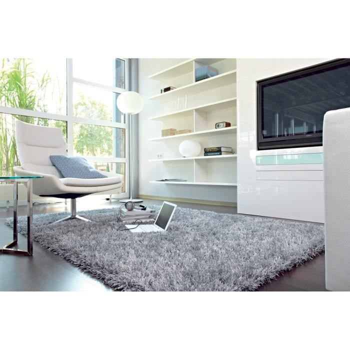 tapis salon feeling trend gris achat vente tapis. Black Bedroom Furniture Sets. Home Design Ideas