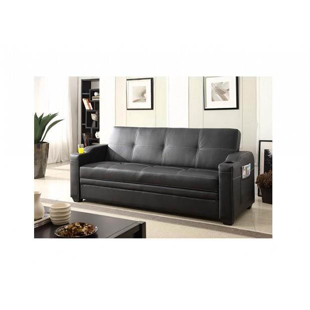 magnifique canape lagos canap 3 personnes convertible lit avec coffre de rangement achat. Black Bedroom Furniture Sets. Home Design Ideas