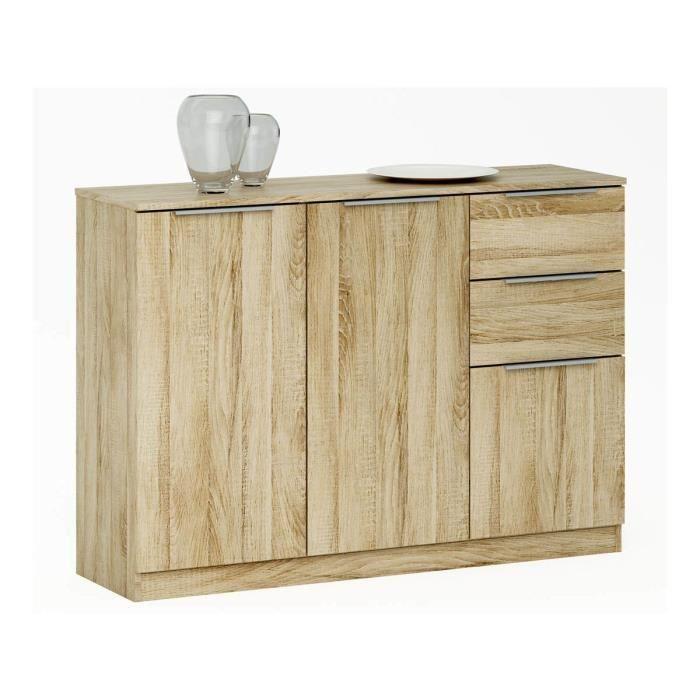 buffet enfilade chest 120 x 35 3 x 85 cm ch ne bross. Black Bedroom Furniture Sets. Home Design Ideas
