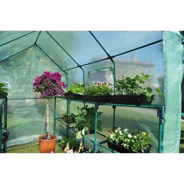 Serre souple achat vente serre de jardinage serre souple cdiscount - Serre de jardin maison nancy ...