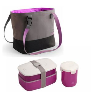 Thermo lunch box achat vente thermo lunch box pas cher - Bento box pas cher ...