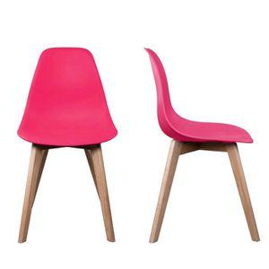 chaise scandinave achat vente chaise scandinave pas cher soldes cdiscount. Black Bedroom Furniture Sets. Home Design Ideas