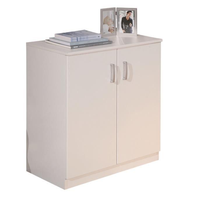 must meuble 2 portes achat vente buffet bahut must meuble 2 portes cdiscount. Black Bedroom Furniture Sets. Home Design Ideas