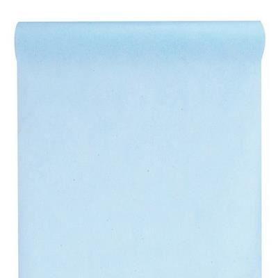 chemin de table uni bleu ciel achat vente chemin de. Black Bedroom Furniture Sets. Home Design Ideas