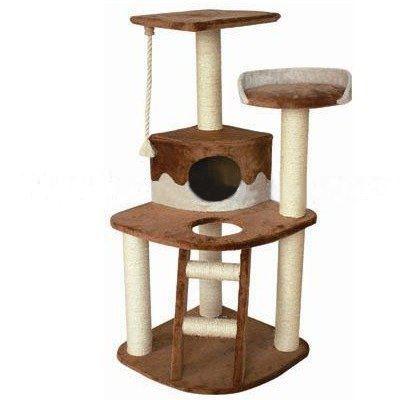 bc elec 5663 0626beige arbre chat griffoir 1 achat vente arbre chat arbre chat. Black Bedroom Furniture Sets. Home Design Ideas
