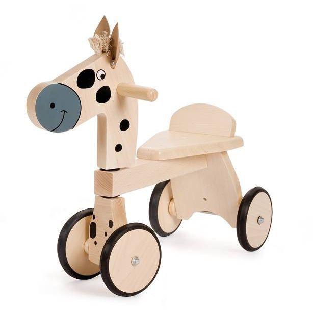 jasper trotteur bois poney achat vente youpala trotteur 5414561493631 cdiscount. Black Bedroom Furniture Sets. Home Design Ideas