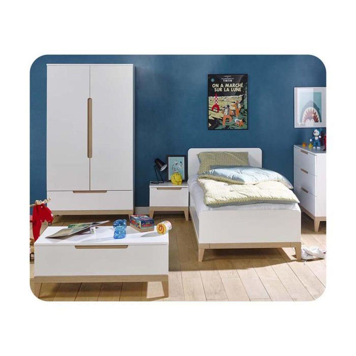 Chambre enfant riga set de 5 meubles achat vente for Set de chambre maison corbeil